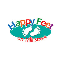 Happy Feet Carlton Logo